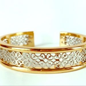 Jewelry - Mixed Metal Lattice Filigree Bracelet
